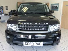 2009 #LandRover #RangeRoverSport HSE 3.0 TDV6 auto estate with CommandShift. Black. FSH. Click on pic shown for more. £32,500.