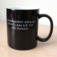 Harry Potter - I solemnly swear that I am up to no good. Heat changing Mug.
