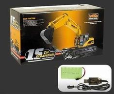 Big-Daddy Super Powerful Full Functional DIE-CAST Remote Control Excavator