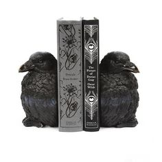 Raven Bookends - Michele Varian