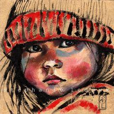 Les carnets de voyage de Stéphanie Ledoux: Le bonnet de laine rouge, Cambodge