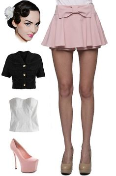 Brand new in store at le bomb shop! Find them here: http://www.ebay.com/itm/PINK-Vintage-Style-Full-Circle-PEPLUM-MINI-Skirt-SKORTS-Inner-Shorts-BOW-/121058797115?pt=US_CSA_WC_Skirts==item61d1027272