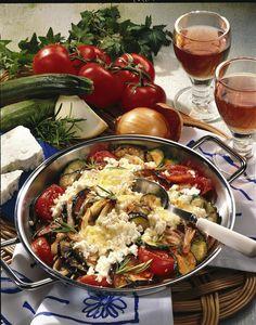 Unser beliebtes Rezept für Gratinierte Gemüsepfanne mit Schafskäse und mehr als 55.000 weitere kostenlose Rezepte auf LECKER.de.