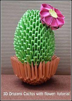 Image result for origami 3d flor
