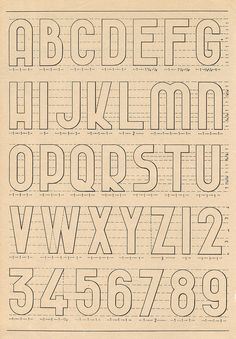 alphabets 1 by pilllpat (agence eureka), via Flickr