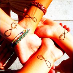 Great tattoo idea for 4 friends...
