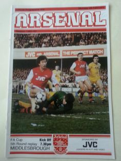 Arsenal v Middlesbrough Football Programme FA Cup 28/02/1983 Listing in the 1980s,FA Cup Fixtures,English Leagues,Football (Soccer),Sports Programmes,Sport Memorabilia & Cards Category on eBid United Kingdom