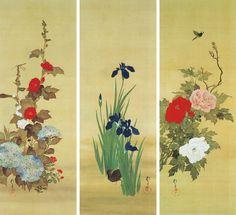 Houitsu Sakai 酒井 抱一(さかい ほういつ、 宝暦11年7月1日(1761年8月1日) - 文政11年11月29日(1829年1月4日)は、江戸時代後期の絵師