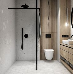 Bathroom decor for your bathroom renovation. Learn master bathroom organization, master bathroom decor suggestions, bathroom tile ideas, bathroom paint colors, and more. Bathroom Layout, Modern Bathroom Design, Bathroom Interior Design, Bathroom Ideas, Bathroom Organization, Bath Ideas, Bath Design, Bathroom Storage, Modern Bathrooms