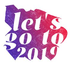 Let's go to 2019