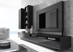Deco tv, living room tv, living room modern, living room designs, tv unit d Modern Tv Cabinet, Tv Cabinet Design, Tv Wall Design, House Design, Tv Console Modern, Modern Tv Room, Modern Tv Wall Units, Modern Living, Wall Units For Tv