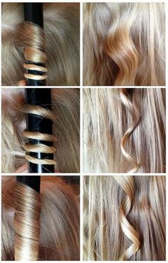 Curly Hair Tutorial for Long Hair (Click picture to read the tutorial) Curly Hair Tutorial for Long Hair Curling Techniques, Curled Hairstyles, Cool Hairstyles, Pagent Hair, Curly Hair Tutorial, Natural Hair Styles, Long Hair Styles, Types Of Curls, Hair Care Tips