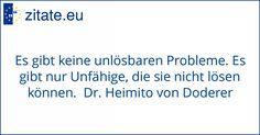 Zitat von Dr. Heimito von Doderer