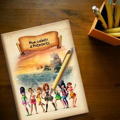 Mon cahier Clochette et la Fée Pirate