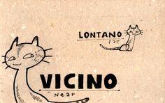 Learning Italian Language ~  Vicino, lontano  (Near, Far) IFHN