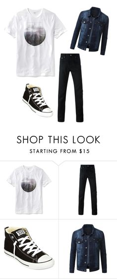 """""""Day out on the town"""" by chasethewaves31 ❤ liked on Polyvore featuring Old Navy, Givenchy, Converse, mens, men, men's wear, mens wear, male, mens clothing and mens fashion"""