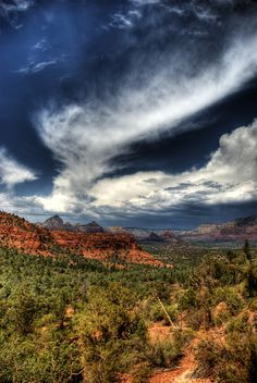 Thunder Mountain Shot in Sedona, AZ