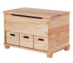 Woodworking Patterns, Woodworking Furniture, Woodworking Shop, Woodworking Projects, Diy Wood Projects, Furniture Projects, Kids Furniture, Wood Crafts, Farmhouse Toy Boxes