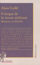 Ouvrage recommandé par Cyril Fouillet -     Bilan du travail de la revue du MAUSS