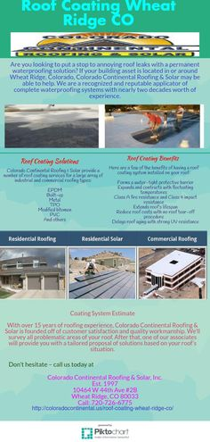 9 Best Roof Coating Wheat Ridge Co Images In 2016 Roof