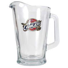 Cleveland Cavaliers Glass Pitcher, Multicolor