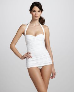http://ncrni.com/norma-kamali-bill-ruched-onepiece-swimsuit-white-p-8777.html