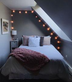 Bedroom furnishings- Schlafzimmer Einrichten Bedroom Setup – up up the room - Bedroom Setup, Bedroom Inspo, Bedroom Decor, Bedroom Ideas, Bedroom Crafts, Cozy Bedroom, Bedroom Inspiration, Dream Rooms, Dream Bedroom