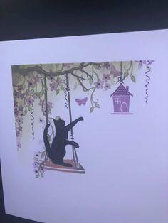 Cat Cards, Bird Cards, Cardio Cards, Handmade Birthday Cards, Handmade Cards, Lavinia Stamps, Card Io, Animal Cards, Making Ideas