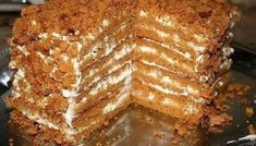 Best chocolate mousse filling for cake - Popular recipes for baking masters Russian Cakes, Russian Desserts, Russian Recipes, Baking Recipes, Cake Recipes, Dessert Recipes, Healthy Recipes, Bolet, Good Food