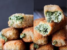 How To Make Spinach Dip Sticks - You Wish Wednesday - By One Kitchen Episode 826 - YouTube