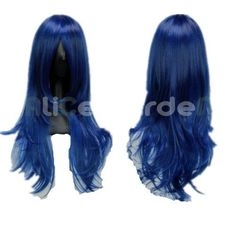 SureWells Nice wigs Guardian Sweetheart Dolls Special Criminal Forces Shikibu Dark Blue COS wigs by SureWells. $23.79. Save 60%!