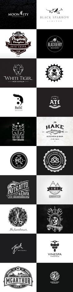 Logo-Inspiration: Black & White