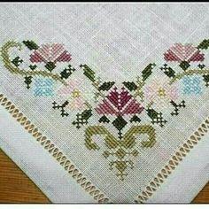 The most beautiful cross-stitch pattern - Knitting, Crochet Love Cross Stitch Letters, Cross Stitch Borders, Cross Stitch Samplers, Modern Cross Stitch, Cross Stitch Flowers, Cross Stitch Designs, Cross Stitching, Cross Stitch Embroidery, Embroidery Patterns