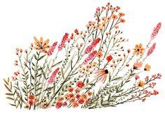 floral print by Vikki Chu; must make a similar one myself!
