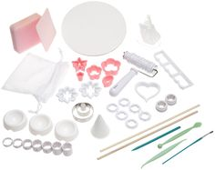 Wilton Gum Paste and Fondant Student Kit- Discontinued By Manufacturer *** Click image to get this special deal : Baking desserts tools