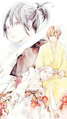 Noragami ~ Yato, Bishamon and Kazuma