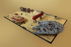 Jakku - Nima Outpost | by Wookieewarrior