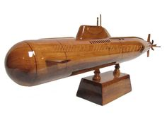 Soviet Russian USSR Akula Class Nuclear Sub Submarine Wood Wooden Mahogany Model Gift by MilitaryMahogany on Etsy