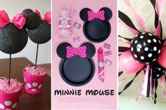 35 SUPER IDÉES pour faire la plus belle fête sur le thème de Minnie Mouse!