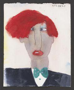 pat douthwaite - Student Artwork, Faces, Student, Paintings, Artists, Fictional Characters, Image, Paint, Idea Paint