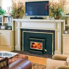 Englander 1,500 sq. ft. Wood-Burning Fireplace Insert-13-NCI at The Home Depot