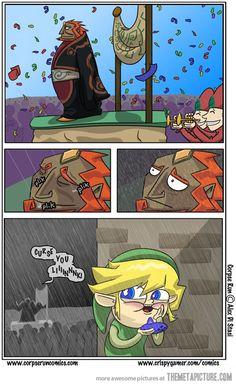 Oh you, Link c: Legend of Zelda