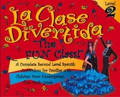 La Clase Divertida Level 2 Intermediate Spanish Kit.  We just love this Spanish curriculum, and all my kids join in on the fun.  My son can watch the dvds and fill in the work book assignments.  There are lots of  crafts and cooking assignments.  Loads of fun.