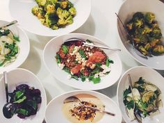 A special evening with Foragers NYC and WSJ+ cooking great food with rich spices.