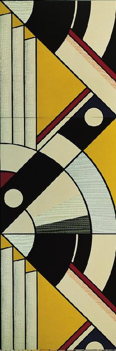 Big Modern Painting (For Expo '67) / Roy Lichtenstein / 1967 / oil and Magna on canvas, 3 panels