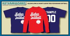 We would like to Thank Mahar Softball for ordering these Gilden short and longs Tees for their team this year!