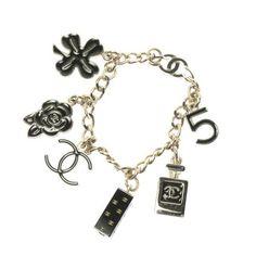 Chanel Bracelet Gold by length x width: arm cm color: gold accessories (x come with): box,bag Vintage Earrings, Vintage Jewelry, Chanel Bracelet, Box Bag, Gold Accessories, Handbags Online, Chanel Handbags, Vintage Chanel, Arm