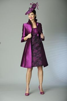 Lovely deep purple colours in this stylish outfit by Presen.