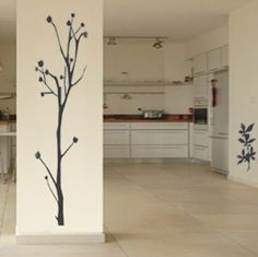 Bring some interest into your space with this extra large unique tree wall decor. Available in a variety of colors, these modern wall decals provide innovative wall art decor SALE PRICE: $49.95