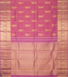 Kanakavalli Handwoven Kanjivaram Silk Sari 001504 - Sari / Bridal - Parisera